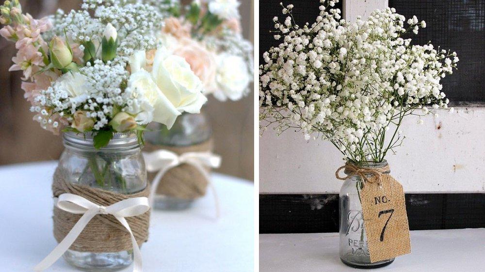 Quelle ambiance pour votre mariage you c wedding - Decoration table mariage fleurs naturelles ...