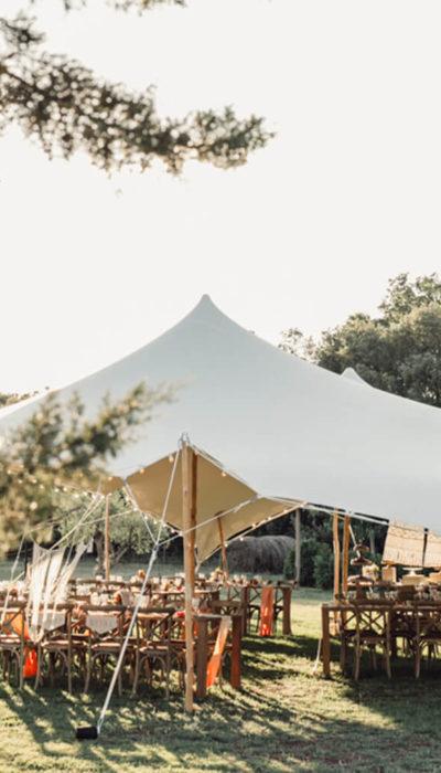 tente mariage Provence