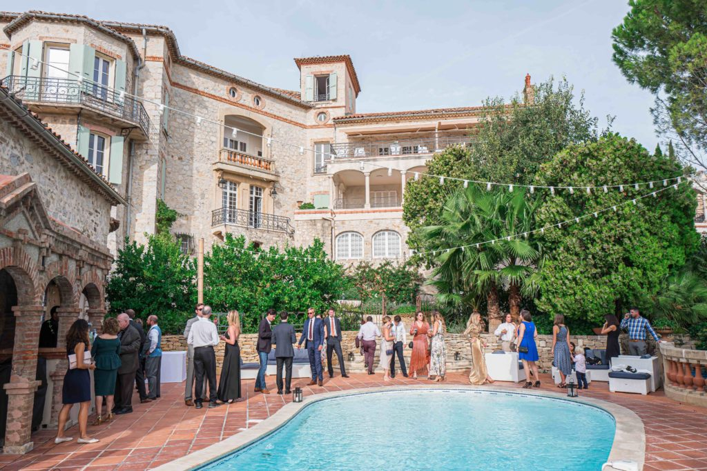 Wedding Château des Costes You & C